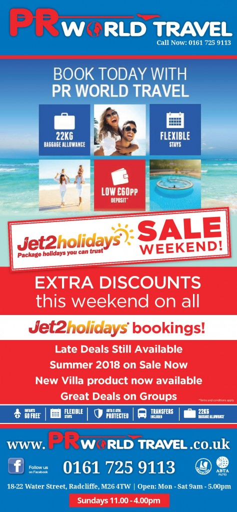 Jet2 Sale weekend 3